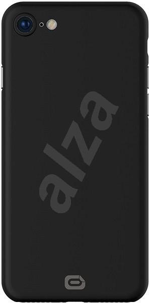 Odzu Crystal Thin Case Black iPhone 8 - Mobiltartó