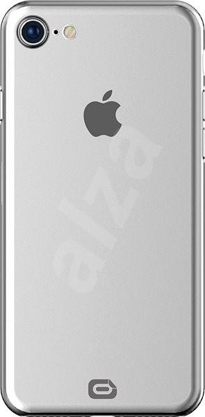 Odzu Crystal Thin Case Clear iPhone 8 - Mobiltartó