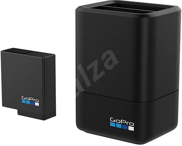 GOPRO Dual Battery Charger + Battery HERO5 Black - Töltő