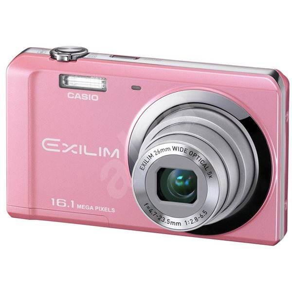 Casio Exilim ZOOM EX-ZS6 PK pink - Digital Camera