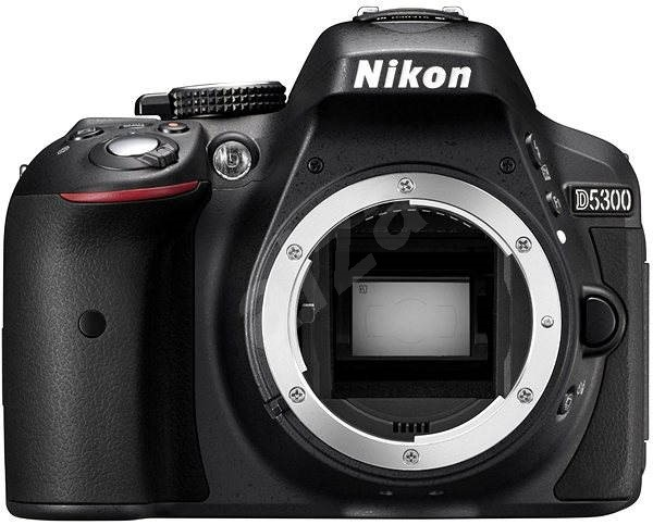 Nikon D5300 fekete burkolatú - Digitális fényképezőgép