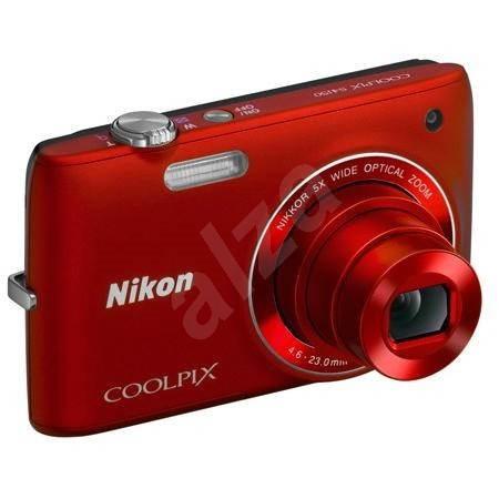 Nikon COOLPIX S4150 red - Digital Camera