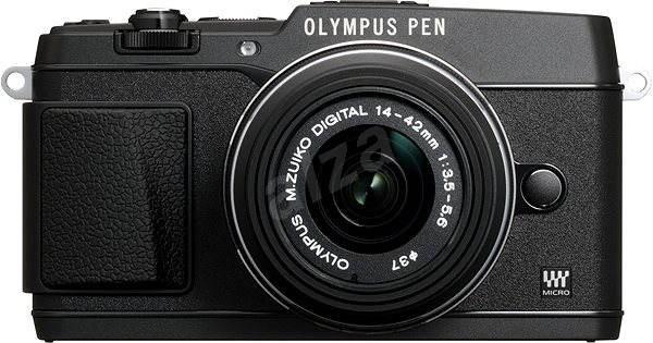 Olympus PEN E-P5 + 14-42 mm Lens II black / black - Digital Camera