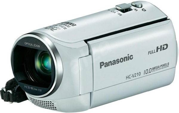 Panasonic HC-V210EP-W white - Digital Camcorder