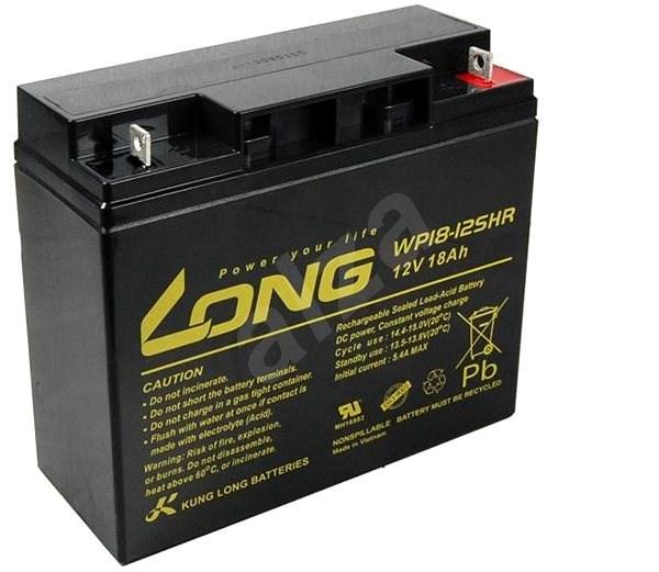 Long 12V 18Ah HighRate F3 ólomakkumulátor (WP18-12SHR) - Akkumulátor