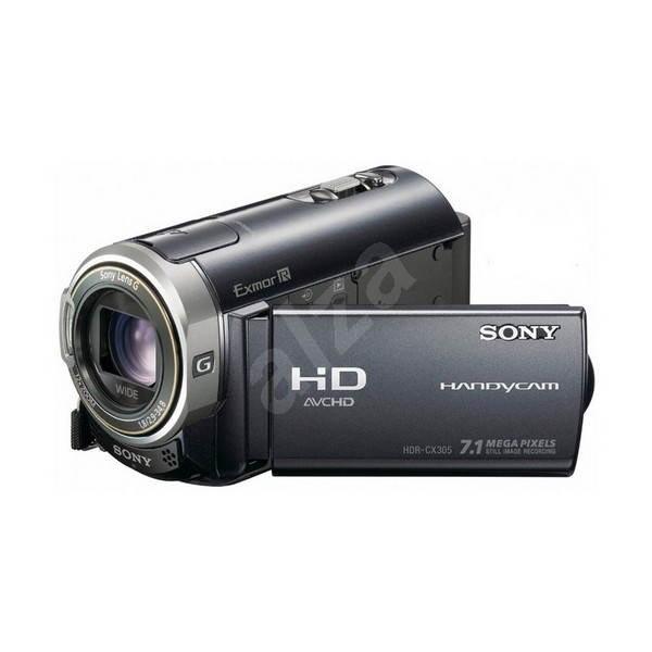 SONY HDR-CX305 black - Digital Camcorder