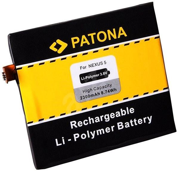 PATONA LG Nexus 5 D820 2300mAh 3,8V Li-pol BL-T9 - Mobiltelefon akkumulátor