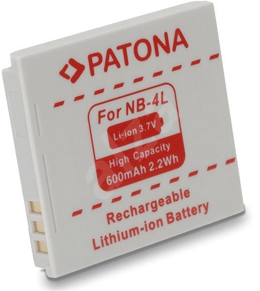PATONA Canon NB-4L 600mAh Li-Ionhoz - Fényképezőgép akkumulátor