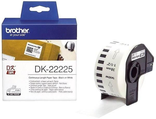 Brother DK 22225 - Papírcímke