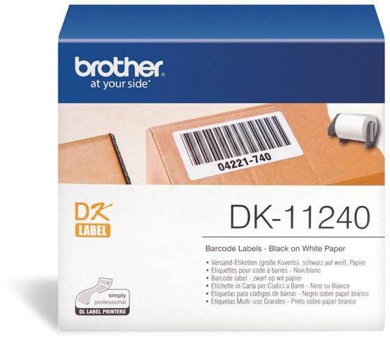 Brother DK 11240 - Papírcímke