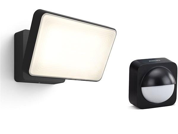 Philips Hue White Welcome + kültéri mozgásérzékelő - LED reflektor