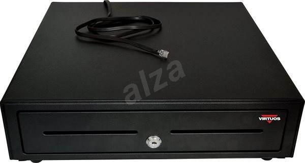 Virtuos S-410 matt fekete - Kasszafiók