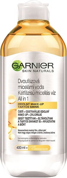 GARNIER Micellar Cleansing Water in Oil Dry & Sensitive Skin 400 ml - Micellás víz