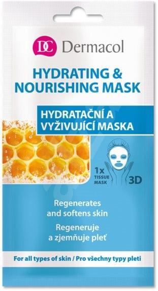 DERMACOL Hydrating & Nourishing Mask 15 ml - Arcpakolás