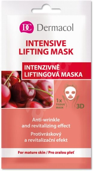 DERMACOL Intensive Lifting Mask 15 ml - Arcpakolás