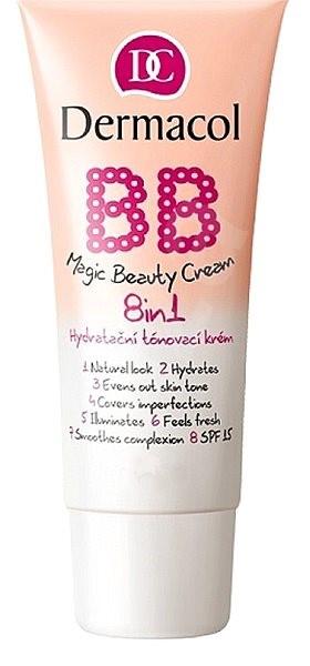 DERMACOL Magic Beauty Cream 8 az 1-ben BB Krém 30 ml - Shell - BB krém