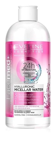EVELINE COSMETICS FACEMED+ Hyaluron micellar water 400 ml - Micellás víz
