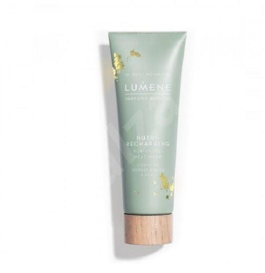 LUMENE Harmonia Nutri-Recharging Purifying Peat Mask 75 ml - Arcpakolás
