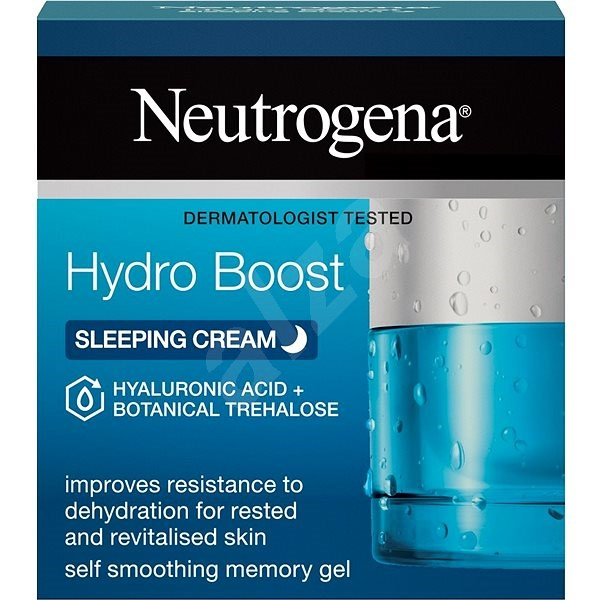 NEUTROGENA Hydro Boost Sleeping Cream 50 ml - Arcpakolás