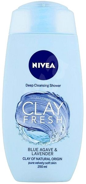 NIVEA Clay Fresh Blue Agave & Levander Shower Gel 250 ml - Tusfürdő zselé