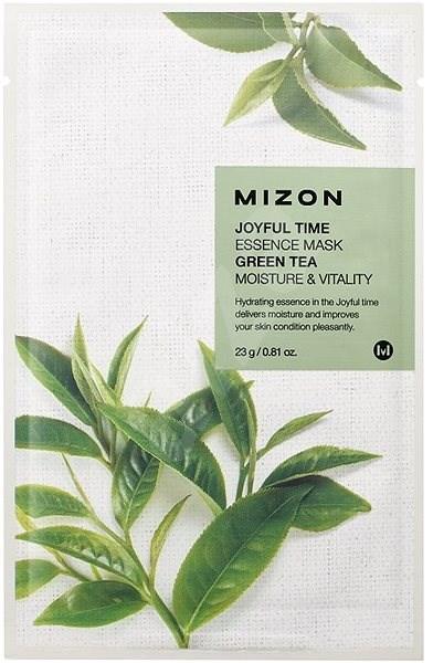 MIZON Joyful Time Essence Mask Green Tea 23 g - Arcpakolás