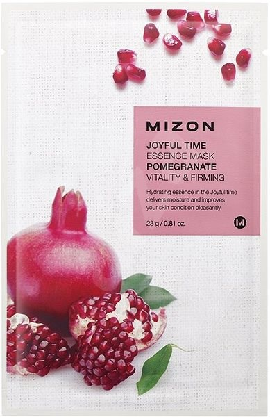 MIZON Joyful Time Essence Mask Pomegranate 23 g - Arcpakolás