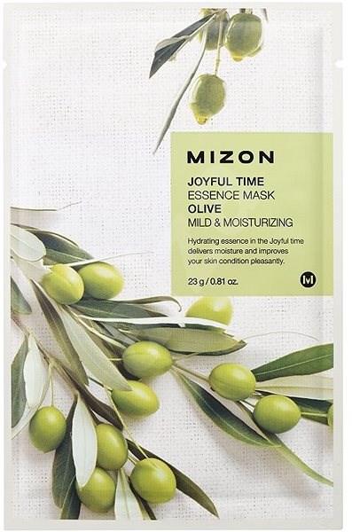 MIZON Joyful Time Essence Mask Olive 23 g - Arcpakolás