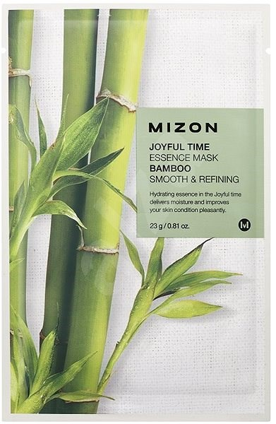 MIZON Joyful Time Essence Mask Bamboo 23 g - Arcpakolás