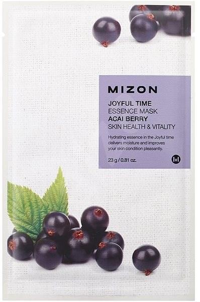 MIZON Joyful Time Essence Mask Acai Berry 23 g - Arcpakolás