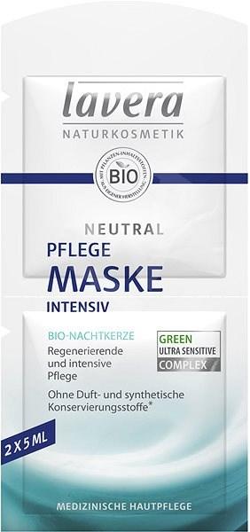 LAVERA Neutral Face Mask 2× 5 ml - Arcpakolás