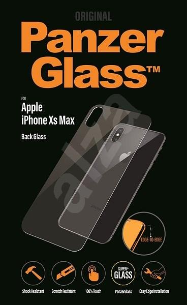 PanzerGlass Edge-to-Edge védőüveg Apple iPhone XS Max készülék hátlapjára - Képernyővédő