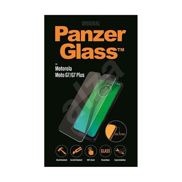 PanzerGlass Edge-to-Edge Motorola Moto G7/G7 Plus készülékhez, víztiszta - Képernyővédő