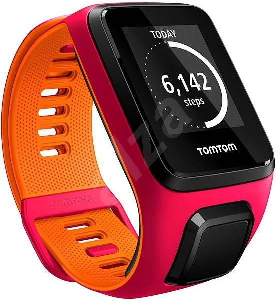 TomTom Runner 3 Cardio + Music (S) rózsaszín-narancs - Sportóra ... aee0d942df