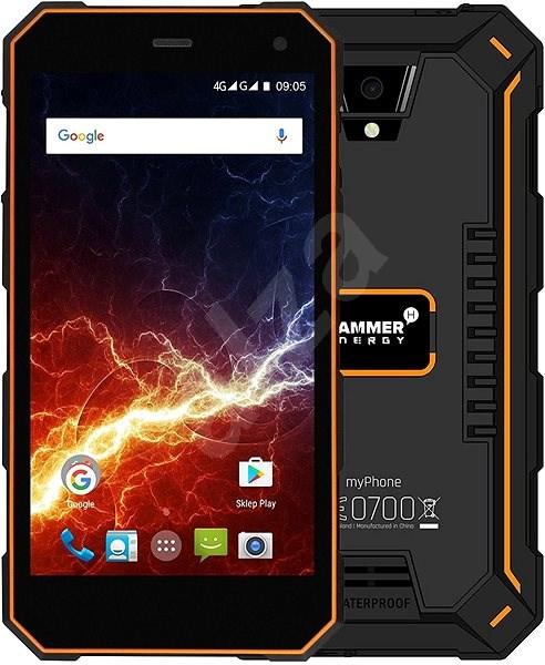 myPhone HAMMER Energy 3G narancs-fekete - Mobiltelefon