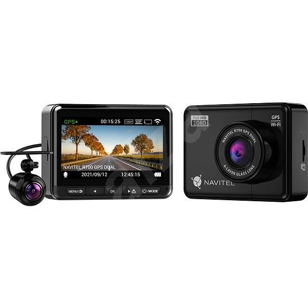 NAVITEL R700 Dual GPS - Autós kamera