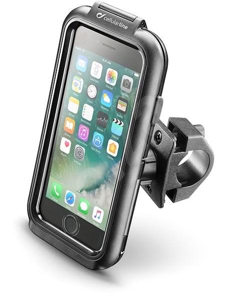 Interphone Apple iPhone 8/7/6/6S készülékhez, fekete - Mobiltelefon tok