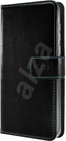 FIXED Opus - Motorola E6 Plus fekete színű készülékekhez - Mobiltelefon tok