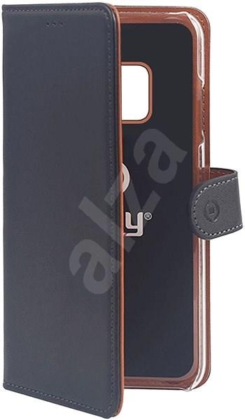 CELLY Wally Huawei Mate 20 Pro készülékhez fekete - Mobiltelefon tok