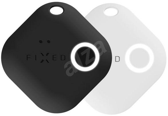 FIXED Smile DUO PACK mozgásérzékelővel - fekete + fehér - Bluetooth kulcskereső