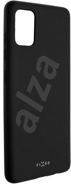 FIXED Story - Samsung Galaxy A51 fekete színű mobiltelefon tartó - Mobiltelefon hátlap