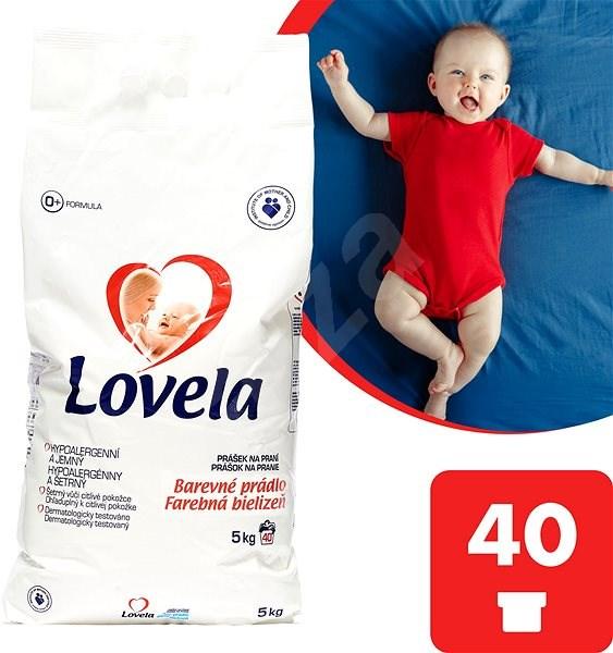 LOVELA Color Mosópor 5 kg (40 mosás) - Mosószer