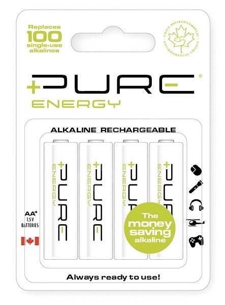 PURE ENERGY AA RAM batteries 4pcs - Rechargeable Battery