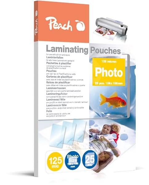 Peach S-PP525-20 fényes - Lamináló fólia