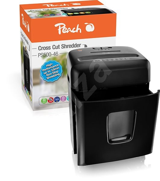 PEACH Cross Cut PS500-46 - Iratmegsemmisítő