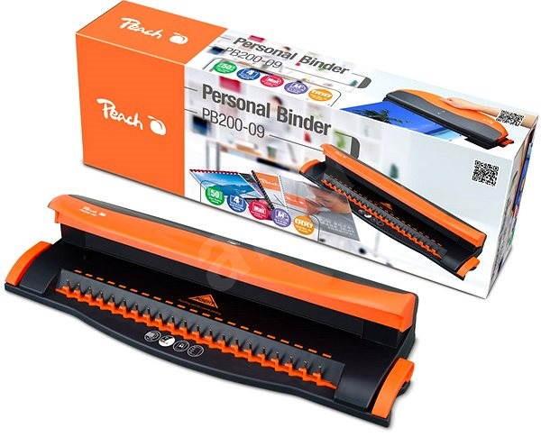 Peach PB200-09 - Spirálozó gép