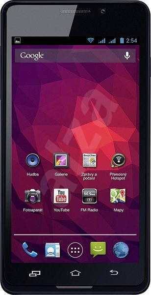 Sencor Element Dual-Sim (P450) Black  - Mobile Phone