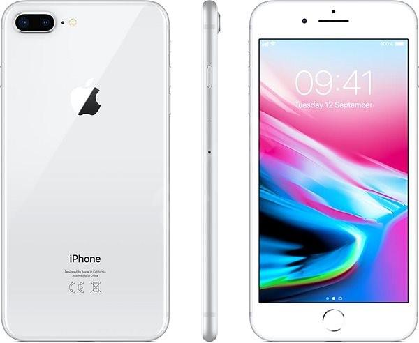 iPhone 8 Plus 64 GB Ezüst - Mobiltelefon