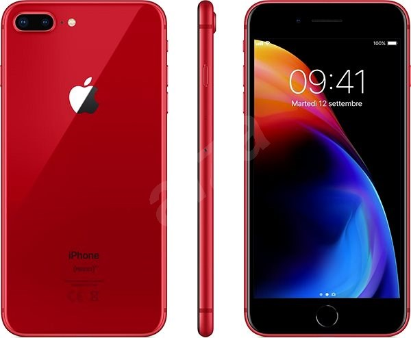 iPhone 8 Plus 256GB piros - Mobiltelefon  190390e729