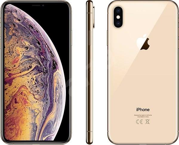 iPhone Xs Max 64GB arany - Mobiltelefon