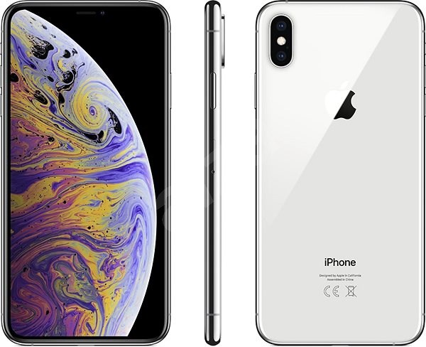 iPhone Xs Max 512GB ezüst - Mobiltelefon